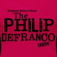 Design ~ Philip DeFranco Show Shirt (Female) w/ black text
