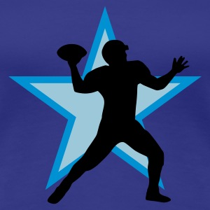 football_star_b_3c T-Shirts - Women's Premium T-Shirt