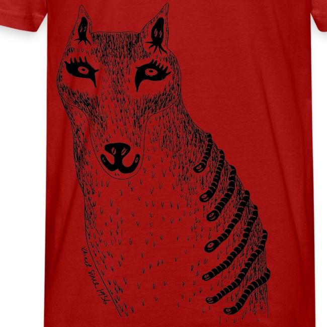 Sandra Barth Beutelwolf Shirt