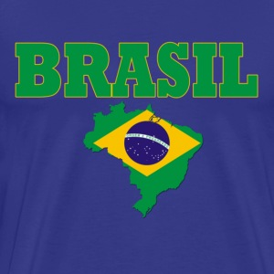 Royal blue brasil blue Men's T-Shirts - Men's Premium T-Shirt