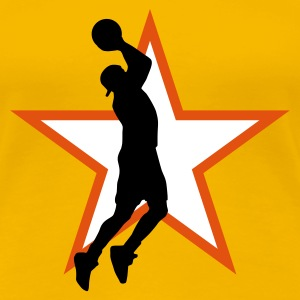 basketball_star_e_3c T-Shirts - Women's Premium T-Shirt