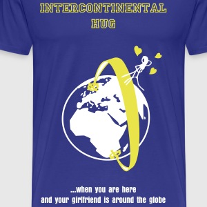 Intercontinental Hug - Men's Premium T-Shirt