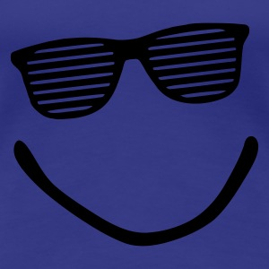 Divablau Big Smile - Smiley - Sonnenbrille - sunglasses - shutter shade T-Shirts - Frauen Premium T-Shirt