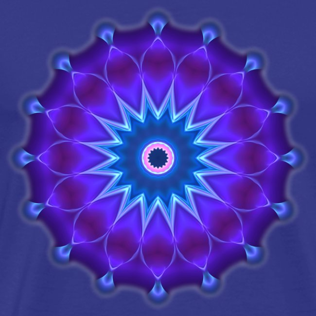 Classic T Artflower Mandala 17