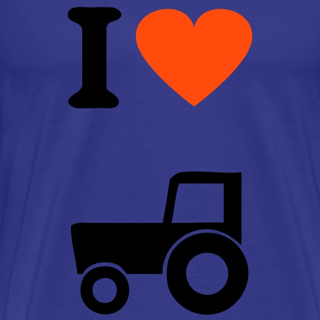 LOVE MY TRACTOR T-SHIRT