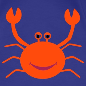 Aqua friendly shrimp Women's T-Shirts - Women's Premium T-Shirt