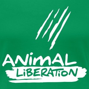 Womens Shirt 'Animal Liberation' WG - T-shirt Premium Femme