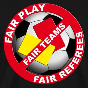 FUSSBALL Shirt FOR FAIR REFEREES - Männer Premium T-Shirt