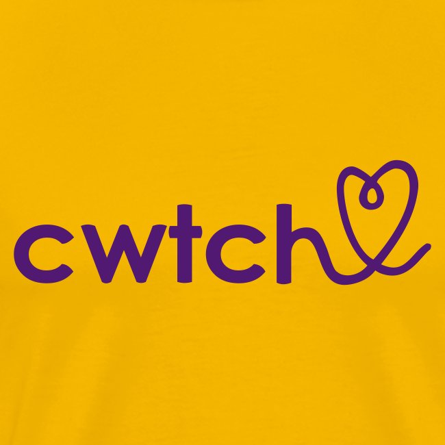 Cwtch with heart t shirt