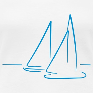 Sailing - Women's Premium T-Shirt