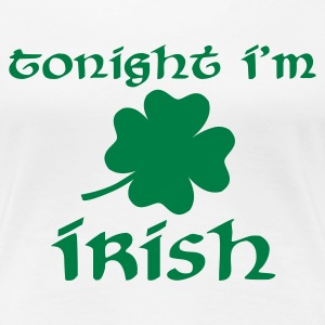 Weiß Irish T-Shirts - Frauen Premium T-Shirt