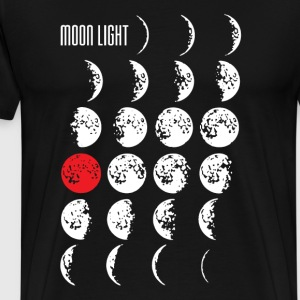 MOONLIGHT | Männershirt XXXL - Männer Premium T-Shirt