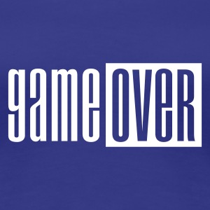 Divablauw Game over deluxe T-shirts - Vrouwen Premium T-shirt