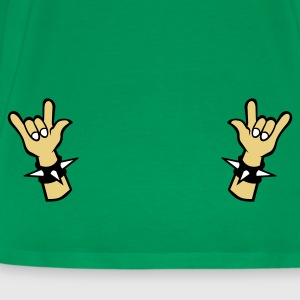 Bottlegreen Devil horns Metal Sign Two Finger Sign T-Shirts - Männer Premium T-Shirt