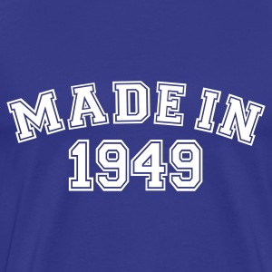 Royalblau Made in 1949 T-Shirts - Männer Premium T-Shirt