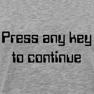 Ontwerp ~ Press any key to continue
