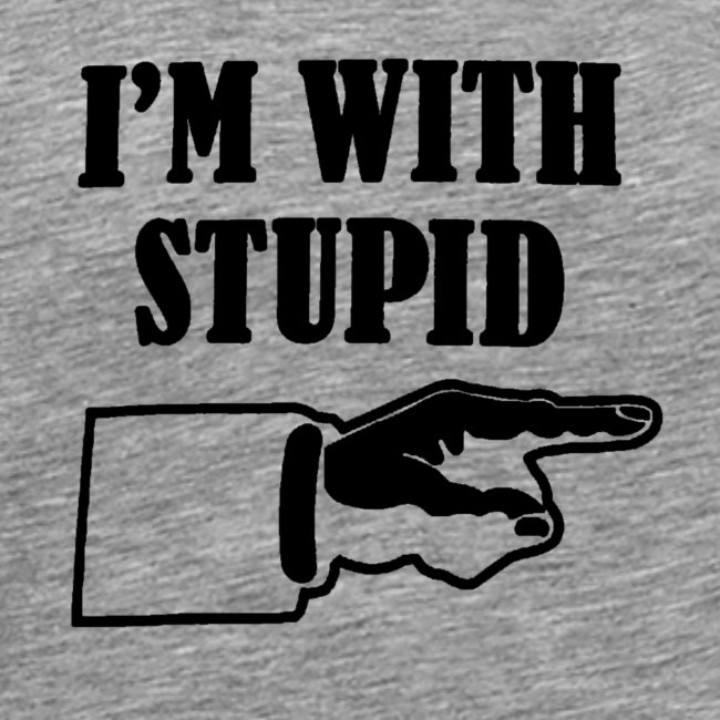I'm With Stupid (heren)