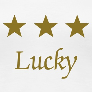 LUCK STARS - Women's Premium T-Shirt
