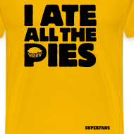 Design ~ I Ate All the Pies - Men's T-Shirt