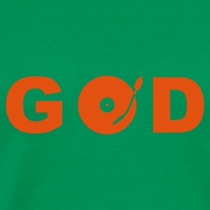 ::  GOD is a DJ :-: - Herre premium T-shirt