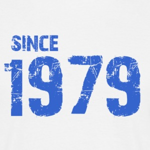 Since 1979 - Mannen T-shirt