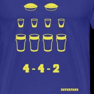 Design ~ 4-4-2 - Men's T-Shirt