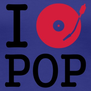 :: I dj / play / listen to pop :-: - Women's Premium T-Shirt