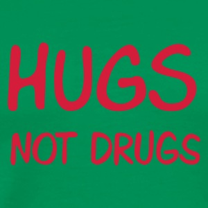 ::  hugs not drugs :-: - Premium T-skjorte for menn