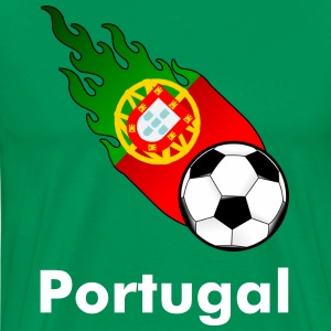 Fireball Football Portugal - Men's Premium T-Shirt
