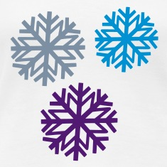 White snowflake 2 Women's T-Shirts