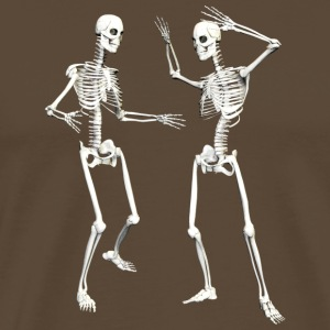 :: skeleton dance (DD) :-: - Mannen Premium T-shirt