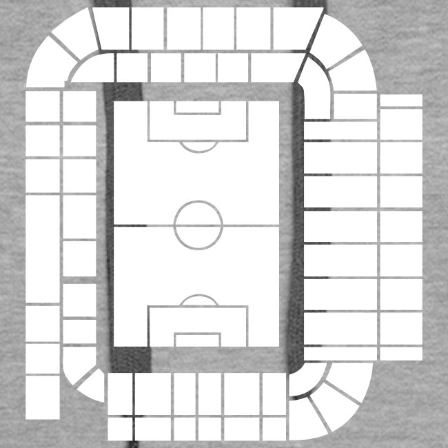 ELLAND ROAD - ACTUAL STADIUM PLAN