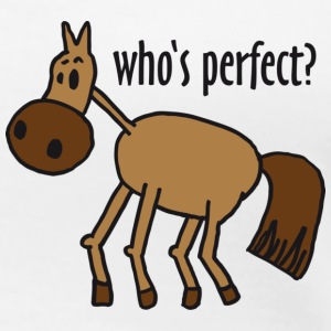 who's perfect? - Frauen Premium T-Shirt