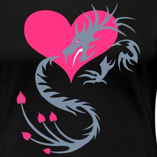 Tatoo Drache in Deinem Herzen 03