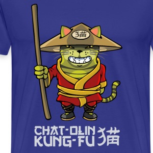 chat olin kung-fu 2 - T-shirt Premium Homme