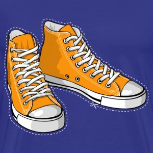 Orange sneakers - Men's Premium T-Shirt