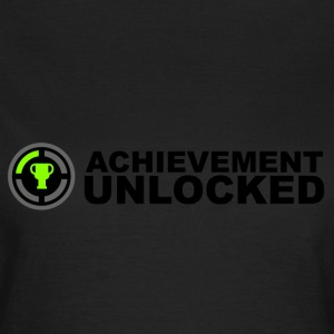 Achievement Unlocked Gamer T-Shirts - Women's T-Shirt