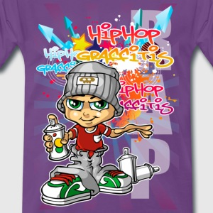 Graffitis and spray - T-shirt Premium Homme