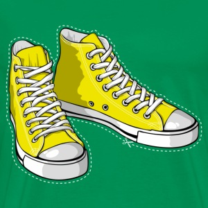 Yellow sneakers - Men's Premium T-Shirt