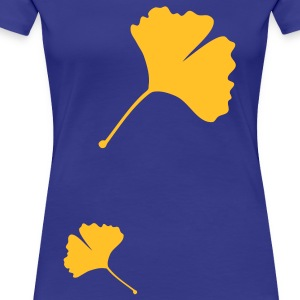 gingko girlie - Frauen Premium T-Shirt