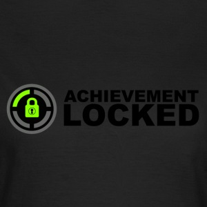 Achievement Locked Gamer T-Shirts - Women's T-Shirt