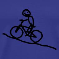 Motiv ~ T-Shirt snafuradler blau