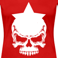 Motiv ~ Drama Queen Star-Skull T-Shirt