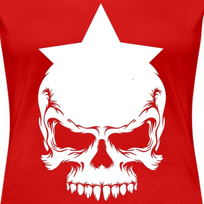 Drama Queen Star-Skull T-Shirt