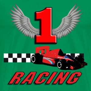 car_racer_h T-Shirts - Men's Premium T-Shirt