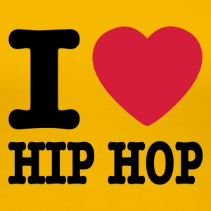 Hellrosa I love hiphop / I heart hiphop T-Shirts - Frauen Premium T-Shirt