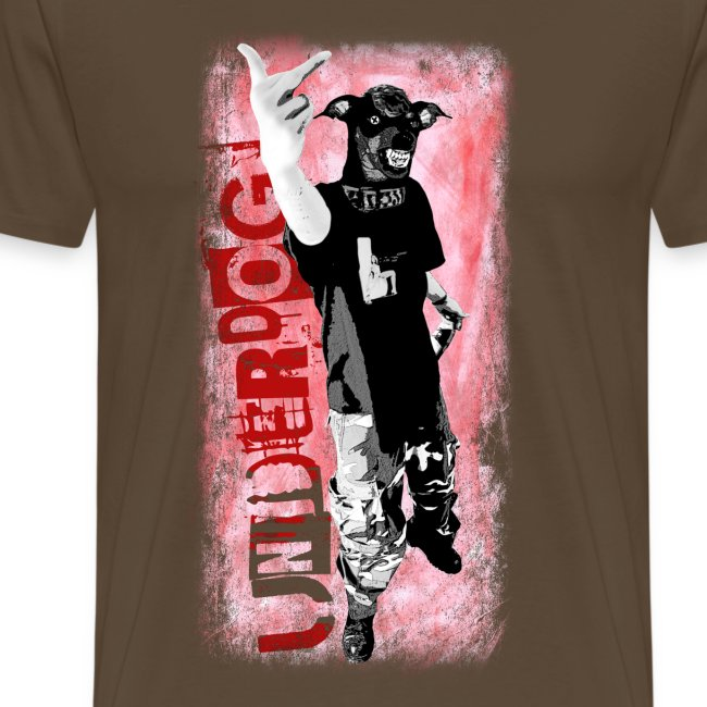 Underdog - brown shirt
