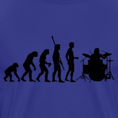 evolution_drummer_1c T-Shirts