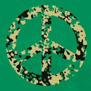 peace_sign_green T-Shirts - Men's Premium T-Shirt