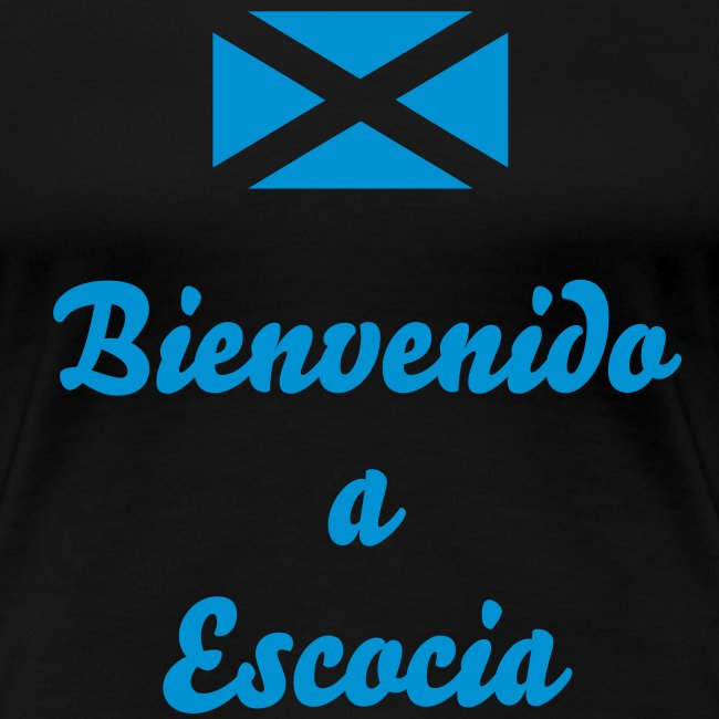 "Ladies Scotland T-Shirt ""Scotland v Spain"""